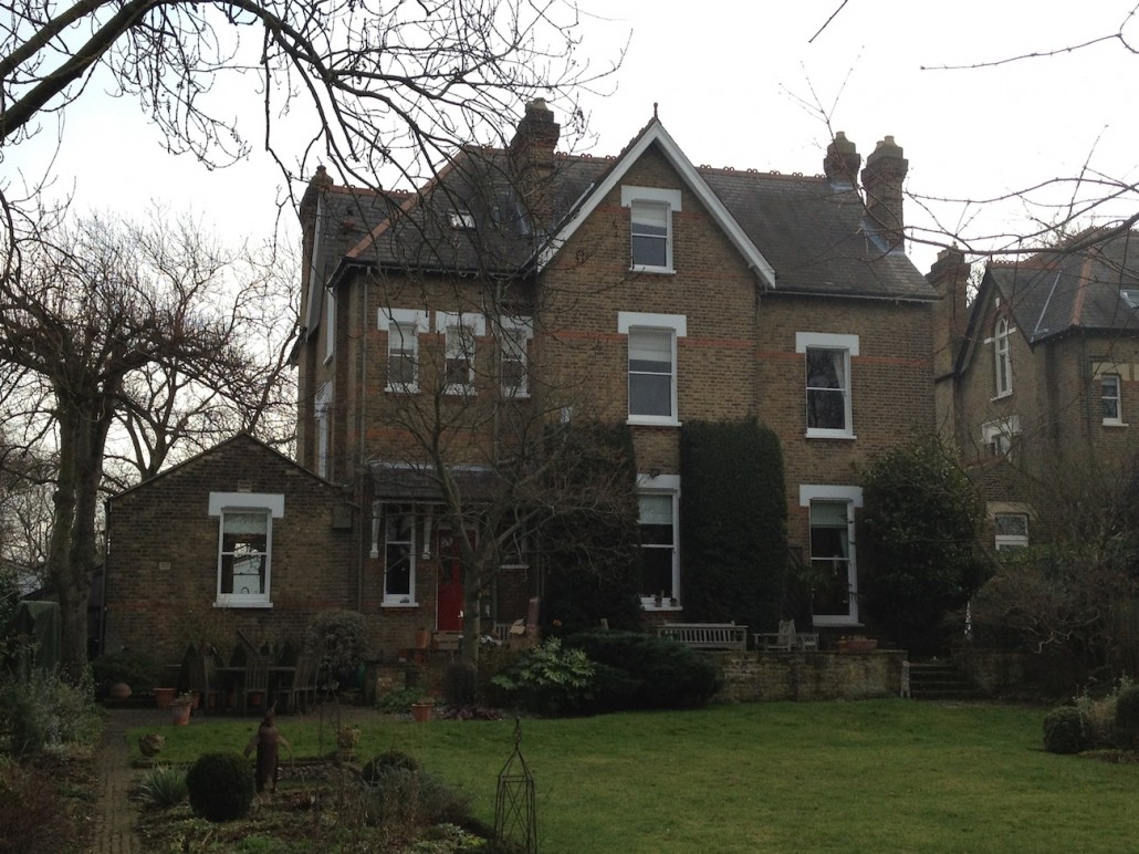 Dulwich, Decorating, Decorations and New Slate Roof