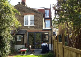 Herne Hill, Extension, Rear Extension, Doors, Windows and Decorations