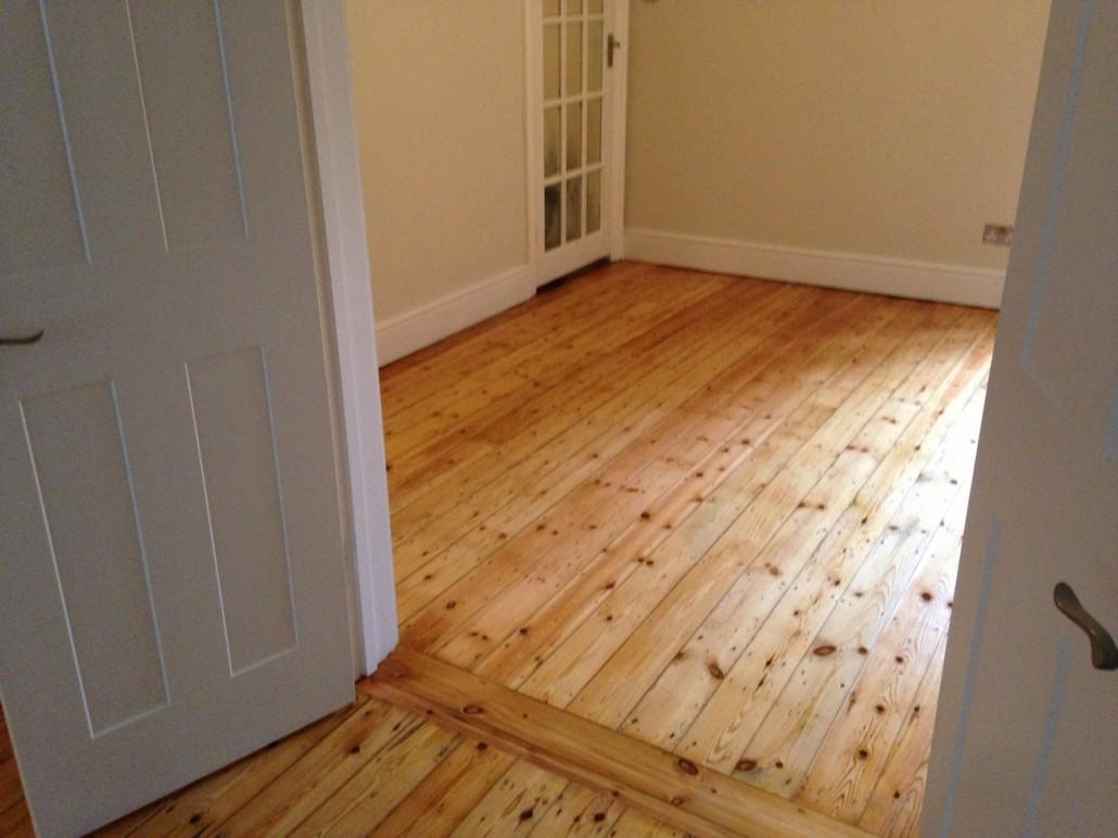Full Refurbishment, Restored Open Varnished Floorboards (After 2)